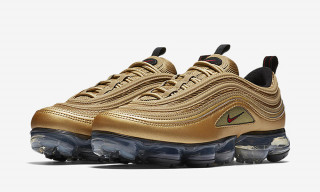 Nike's Air VaporMax 97 Gets the Metallic Gold Treatment