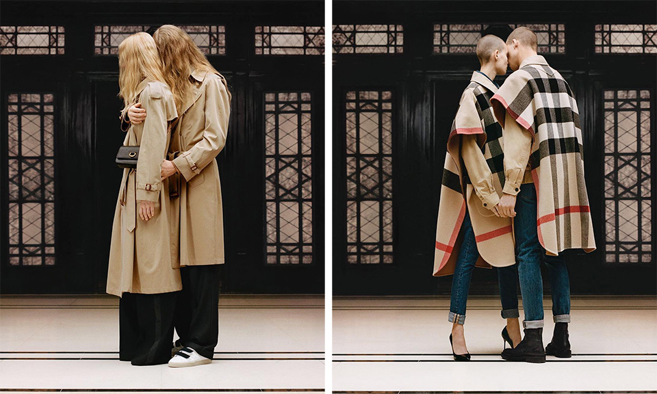 riccardo tisci honors burberry s legacy with b classic collection