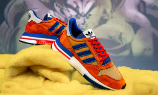 "Here's Our First Official Look at the 'Dragon Ball Z' x adidas ZX 500 RM ""Goku"""