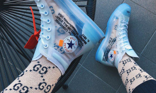 Here's How Instagram Is Wearing the OFF–WHITE x Converse Chuck Taylor