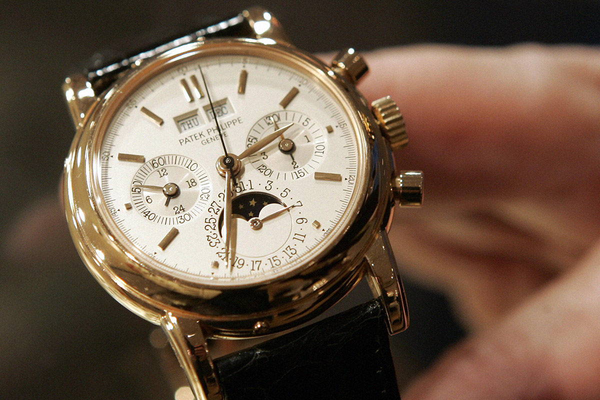 Man, 21, owns luxury watch business and employs 15 people