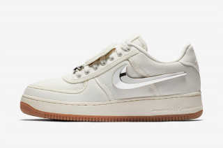 "new style 39e73 2efaf How  Where to Cop Travis Scotts ""Sail"" Nike Air Force 1 Today"