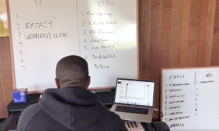 Kanye West Previews New Music & Reveals Kid Cudi's Album Tracklist