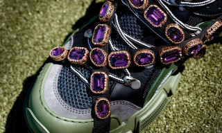 Gucci's Chunky SEGA Sneaker Feature Removable Jewel Details