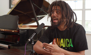 "J. Cole Talks Kanye West, ""Lil"" Rappers & More in 90-Minute Interview"