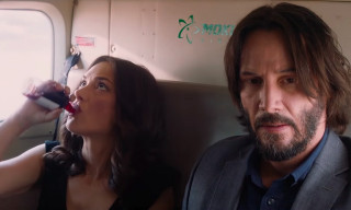 Keanu Reeves & Winona Ryder Are a Miserable Duo in 'Destination Wedding'