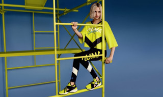 Cara Delevingne Debuts PUMA's Muse Cut-Out Sneaker