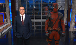 Watch Deadpool Hilariously Hijack Stephen Colbert's Monologue