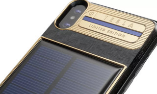 "This Solar-Powered ""Tesla"" iPhone X Costs Over $4,500"