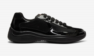 These Iconic Prada Sneakers Just Got a Murdered-Out Makeover