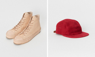 Hender Scheme's Chuck Taylor-Inspired Shoe Headlines FW18 Collection