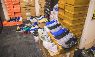 Here's Golden State Warriors' Insane Sneaker-Filled Facility
