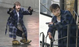 Daniel Radcliffe Is Now a Trigger Happy Meme