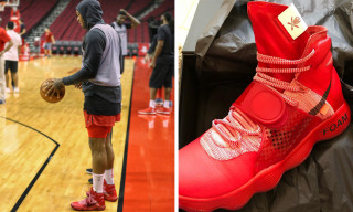 P.J. Tucker Debuts Custom Virgil Abloh x Nike Hyperdunks