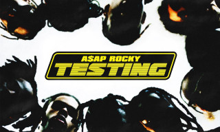 A$AP Rocky Unveils New Album Cover Art, Teases Features With Kid Cudi & Skepta