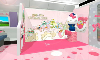 Here's A Look Inside Japan's Hello Kitty Bullet Train
