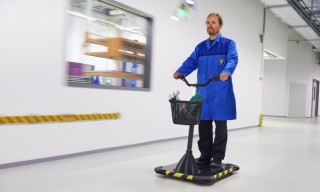 BMW Debuts Personal Mover Concept for Factory Workers