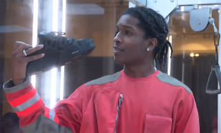 A$AP Rocky Officially Unveils His Signature Under Armour Sneaker