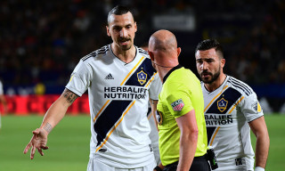 Watch Zlatan Ibrahimovic Slap His Opponent & Get Sent Off