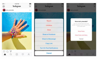 "Instagram Launches New ""Mute"" & ""You're All Caught Up"" Features"
