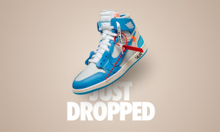 "Virgil Abloh's Air Jordan 1 ""UNC"" Dropped Out of Nowhere Today"