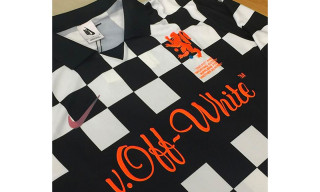 Virgil Abloh Gifts Nike x OFF-WHITE Soccer Jerseys to His Old High School