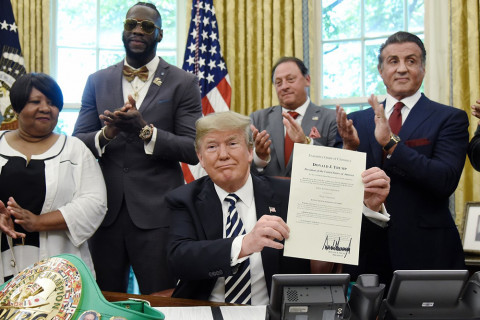 Donald Trump Pardons Boxer Jack Johnson, Thanks to Stallone!