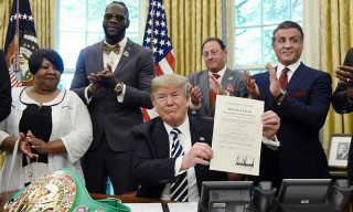Trump Pardons First Black Heavyweight Boxing Champion Jack Johnson
