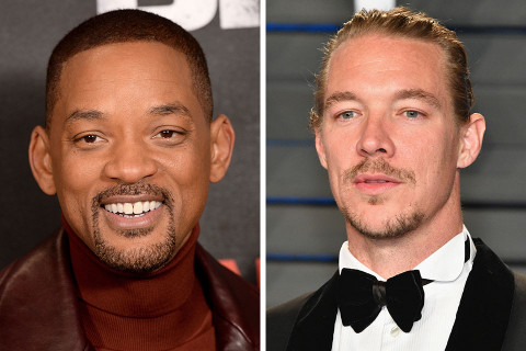 Will Smith Links With Diplo & Nicky Jam on 'Live It Up'