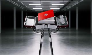 Ferrari Debuts Massive Engine-Inspired Book Design