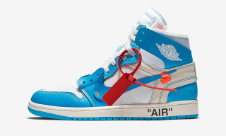 "Peep the W's and L's From Virgil Abloh x Nike's Air Jordan 1 ""UNC"" Surprise Drop"