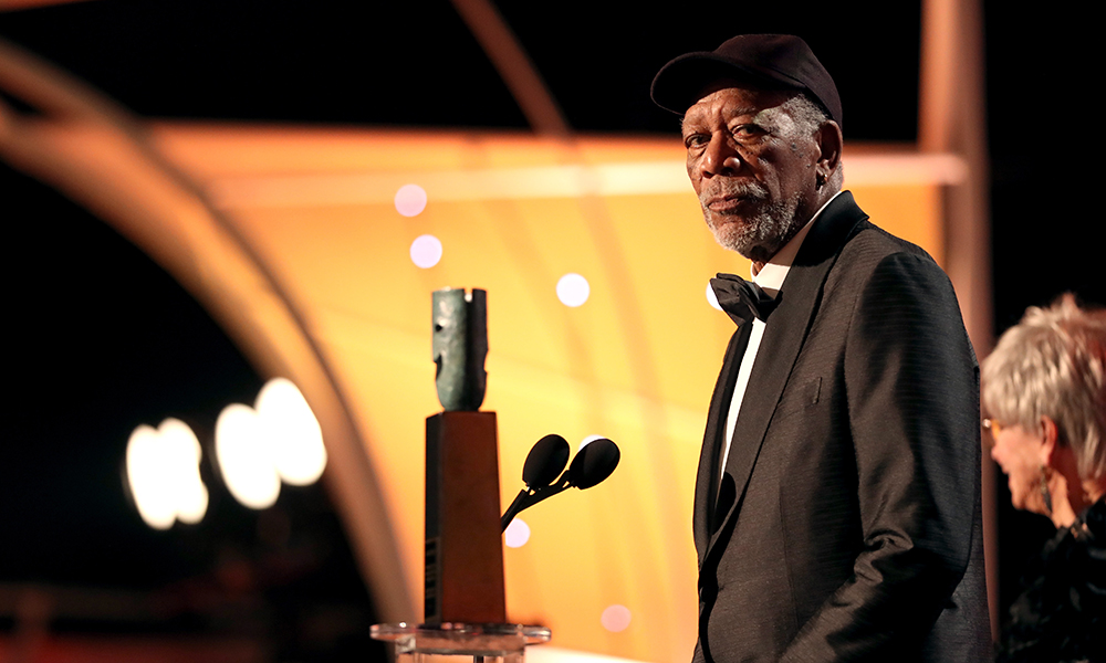 Morgan Freeman Issues Statement Following Harassment Accusations