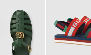 Set Your Summer Look Alight With These Gucci Sandals