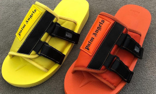 Palm Angels Debuts Bold SUICOKE KAW Sandals