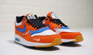 Go Super Saiyan in These Custom Goku-Themed Air Max 1s