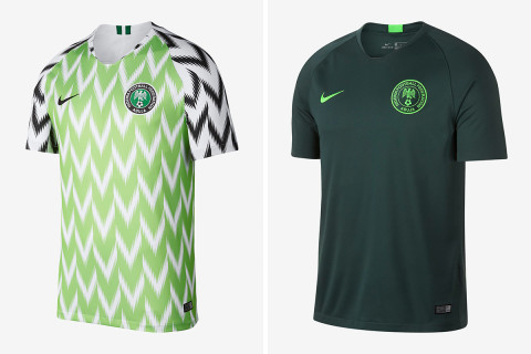 The Super Eagles Home Shirt Sold Out In London At N31,000 Each