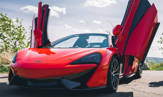 'The Review' Interviews Sean Pablo & Test Drives a New McLaren