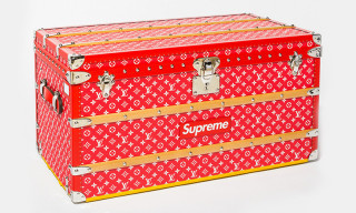 Supreme x Louis Vuitton Trunk to Fetch More Than $100k at Auction