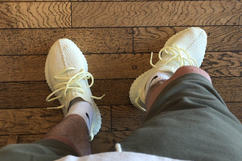 """Here s How Instagram is Wearing the YEEZY Boost 350 V2 """"Butter ... 3a1ca3d65"""