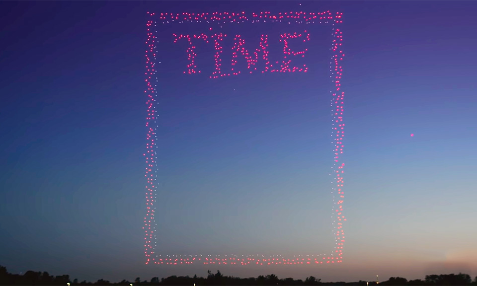 Drones For Sale >> 'TIME' Magazine Uses 958 Drones to Shoot Incredible Cover