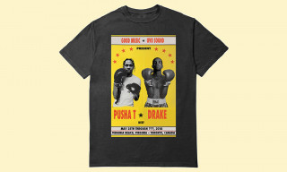 This Drake vs. Pusha T Rap Battle T-Shirt Is a Must-Cop