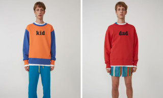 Acne Studios' New Printed Sweatshirts Are Perfect for the Whole Family