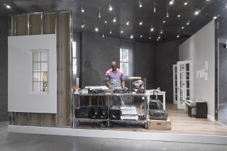 Virgil Abloh S Cutting Room Floor Exhibition Recreates His Home Studio