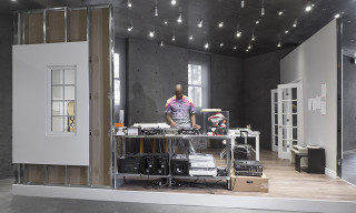 "Virgil Abloh's ""CUTTING ROOM FLOOR"" Exhibition Recreates His Home Studio"