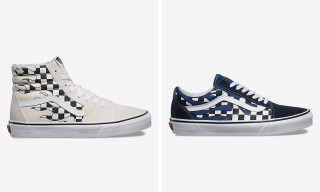 Checkerboard Meets Fire in the Latest Vans Pack