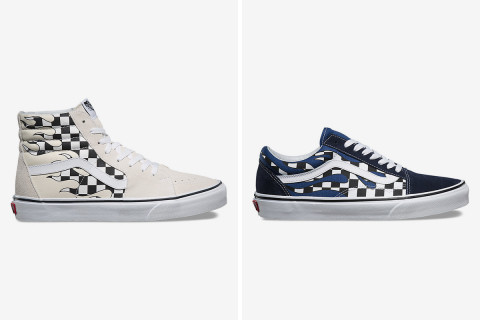 New Vans Pack Mixes Checkerboard and Flame Patterns a7868be8d