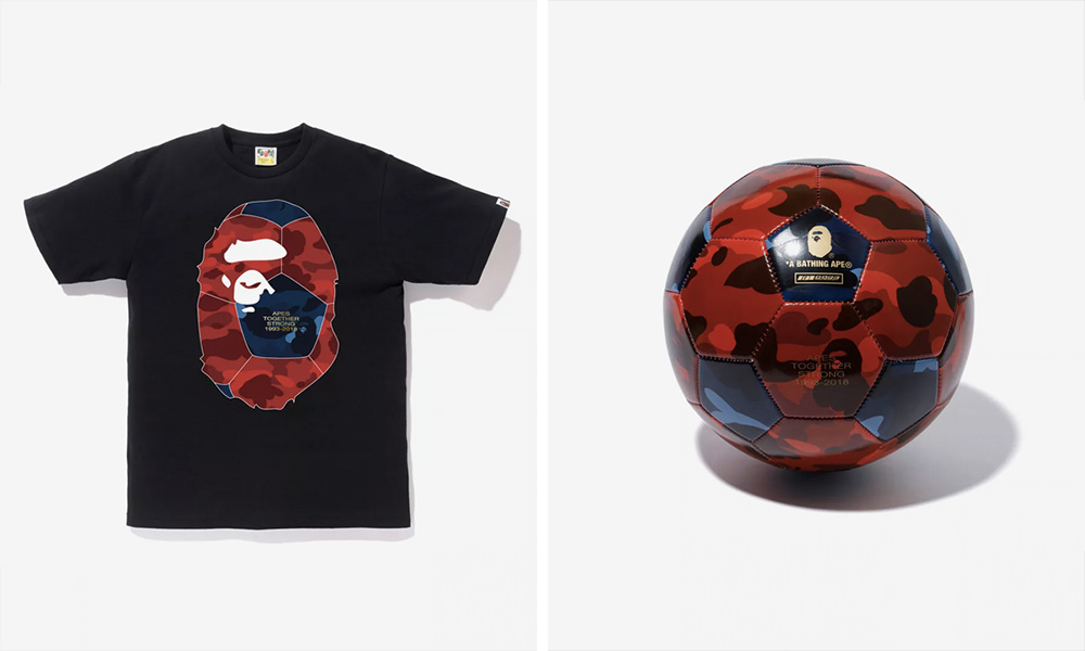 wholesale dealer 78810 896c6 The BAPE World Cup Capsule Is Pure Class