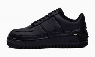 "Nike's Artsy Air Force 1 ""Jester"" in ""Triple Black"" Is Peak Stealth"