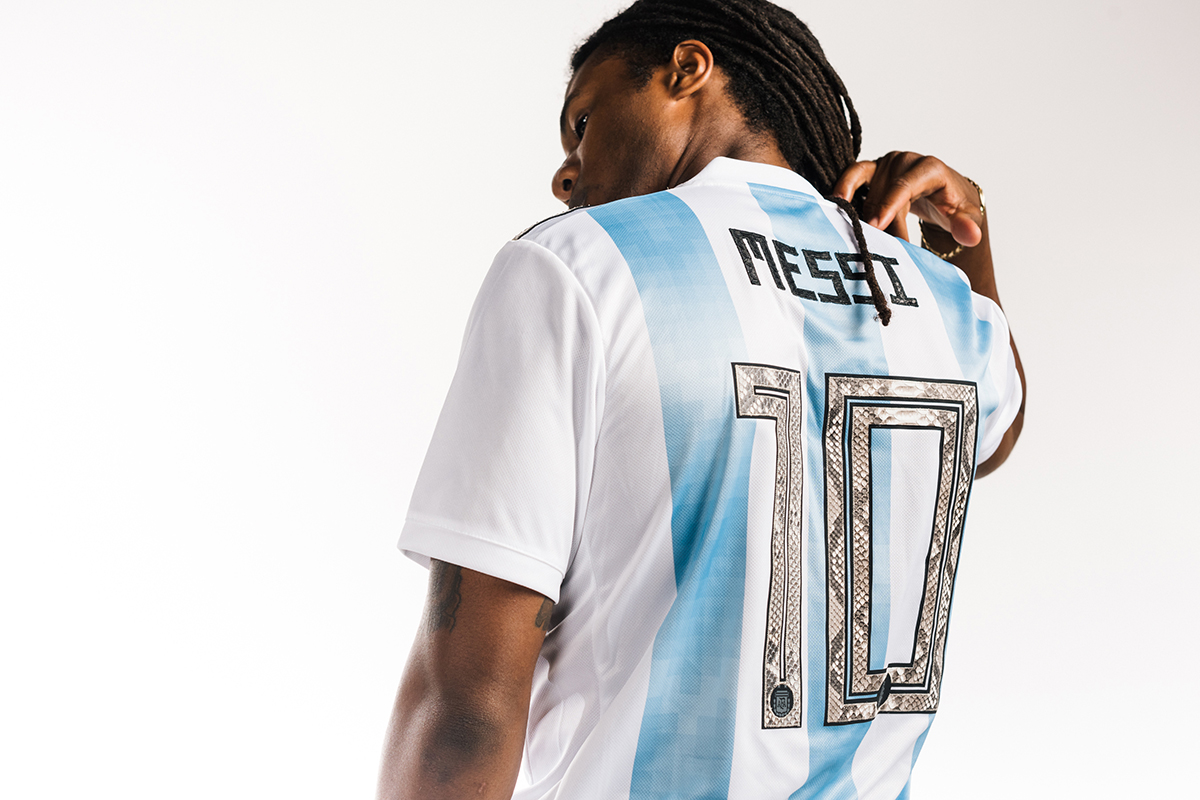 These Customized World Cup Jerseys Are Low Key Fire Hush Weekly