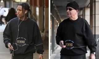 A$AP Rocky Battles Grandpa in Balenciaga 'Fit Challenge
